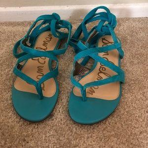 Sam Edelman Aqua Sandals (size 7.5)